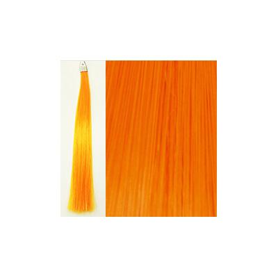 カミエク ヘアーエクステンション ライトオレンジ 6本毛