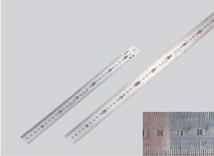 ステン直定規 2,000×40×2(サイズmm) 極東産機 63-3025