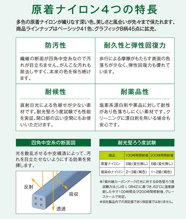 Sangetsu 有限公司地毯 NT 700 系列