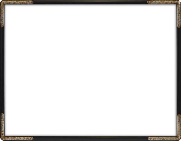 デッサン額縁 7200/ブラック 四つ切サイズ(424×348mm)☆前面アクリル仕様☆【絵画/壁掛け/インテリア/玄関/アートフレーム】