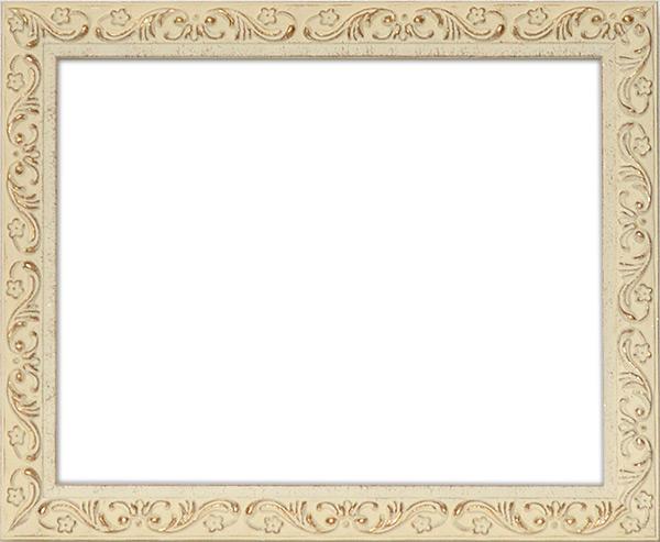 デッサン額縁 8201/ホワイト 大全紙サイズ(727×545mm)☆前面アクリル仕様☆【絵画/壁掛け/インテリア/玄関/アートフレーム】