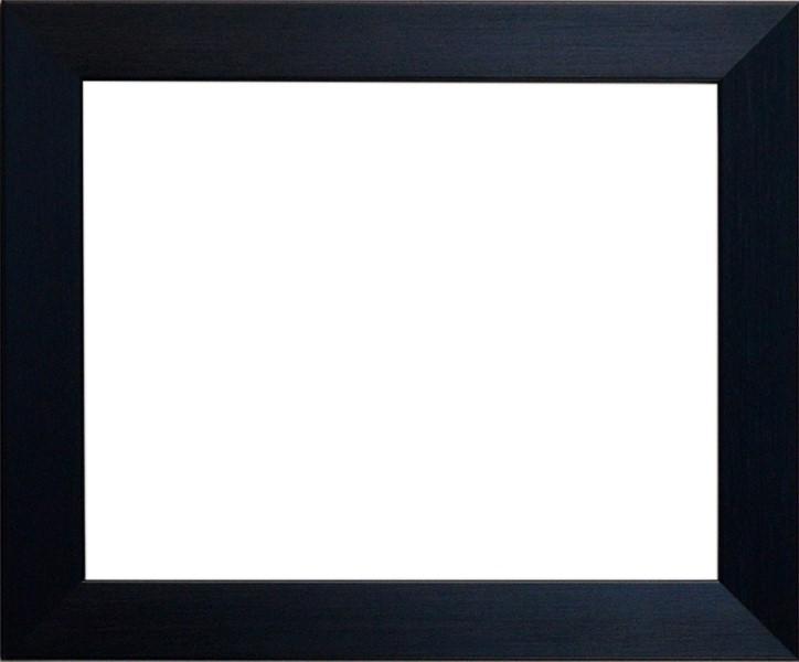 シンプルな形状のフレームなので、飾る作品を選びません。 デッサン額縁 1530/黒 大全紙サイズ(727×545mm)☆前面アクリル仕様☆【絵画/壁掛け/インテリア/玄関/アートフレーム】