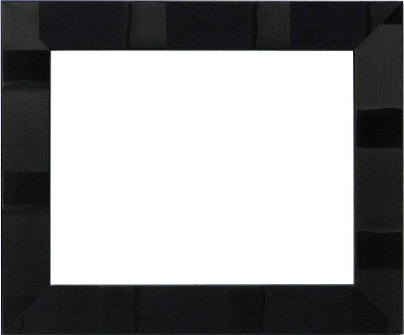 デッサン額縁 エスポワール/黒 A1(841×594mm)☆前面アクリル仕様☆ ※受注生産品のため返品・交換不可※【送料別商品】【絵画/壁掛け/インテリア/玄関/アートフレーム】