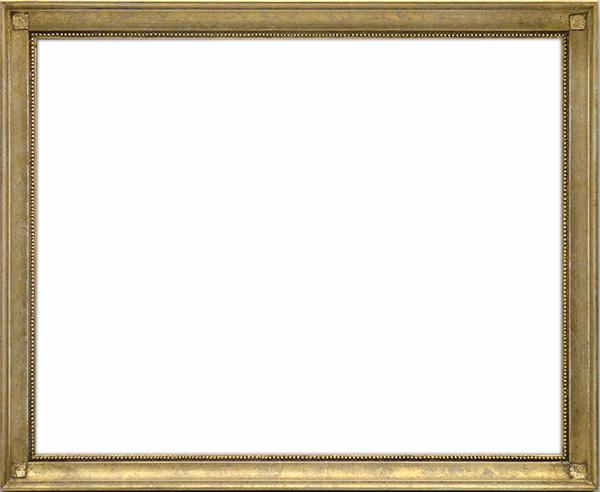 デッサン額縁 7512/ホワイトゴールド 三三(606×455mm)☆前面アクリル仕様☆【絵画/壁掛け/インテリア/玄関/アートフレーム】