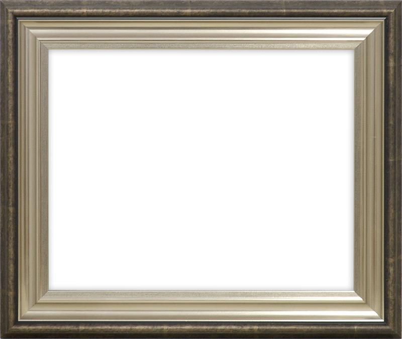 【送料無料】デッサン額縁 8156/シルバー B2サイズ(728×515mm)☆前面アクリル仕様☆【絵画/壁掛け/インテリア/玄関/アートフレーム】