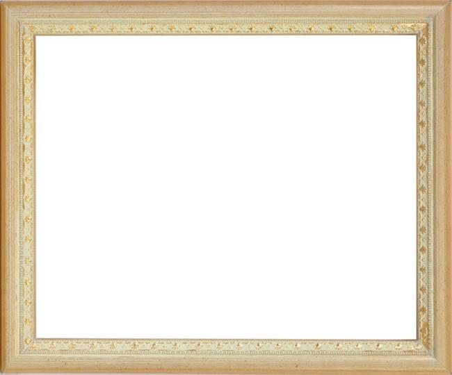 デッサン額縁 マジョルカ/Gアイボリー 小全紙(660×509mm) ☆前面アクリル仕様☆【ラーソン・ジュール】【絵画/壁掛け/インテリア/玄関/アートフレーム】