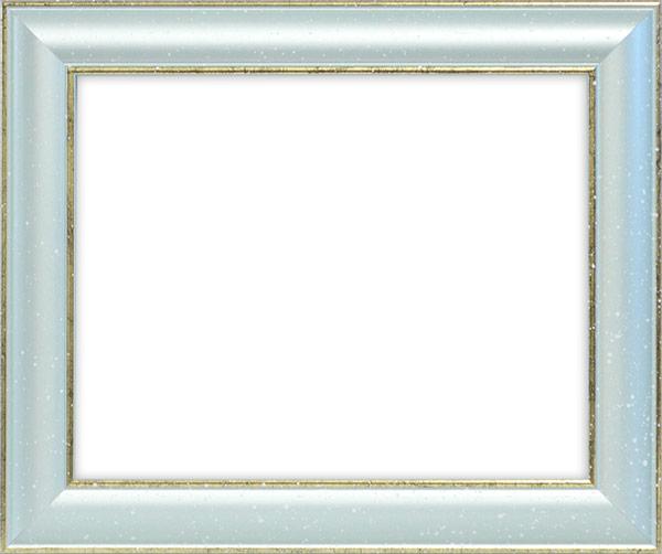 デッサン額縁 ミラノ108/ブルー B3サイズ(515×364mm)☆前面アクリル仕様☆【絵画/壁掛け/インテリア/玄関/アートフレーム】