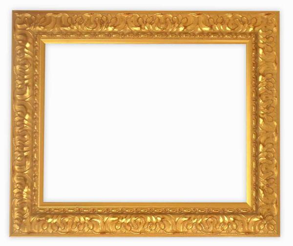 デッサン額縁 246/ゴールド 半切サイズ(545×424mm)☆前面ガラス仕様☆【絵画/壁掛け/インテリア/玄関/アートフレーム】