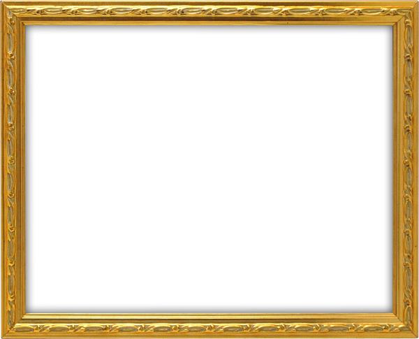 デッサン額縁 コリント/ゴールド 大全紙サイズ(727×545mm) ☆前面アクリル仕様☆【ラーソン・ジュール】【絵画/壁掛け/インテリア/玄関/アートフレーム】