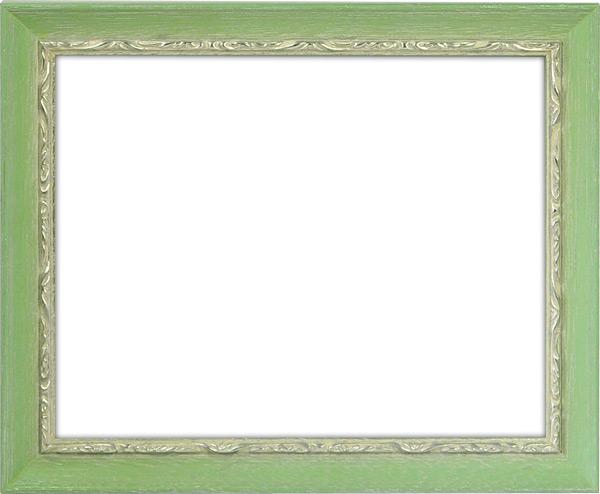 デッサン額縁 モナコ/緑 三三サイズ(606×455mm) ☆前面アクリル仕様☆【ラーソン・ジュール】【絵画/壁掛け/インテリア/玄関/アートフレーム】