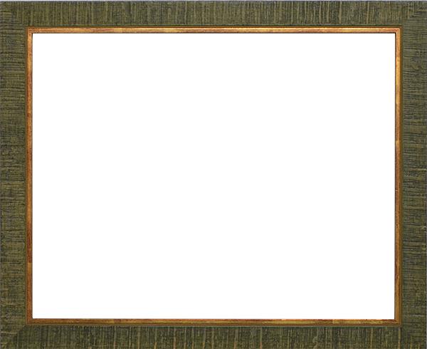 デッサン額縁 ロッキー/緑 大全紙サイズ(727×545mm)☆前面アクリル仕様☆【ラーソン・ジュール】【絵画/壁掛け/インテリア/玄関/アートフレーム】