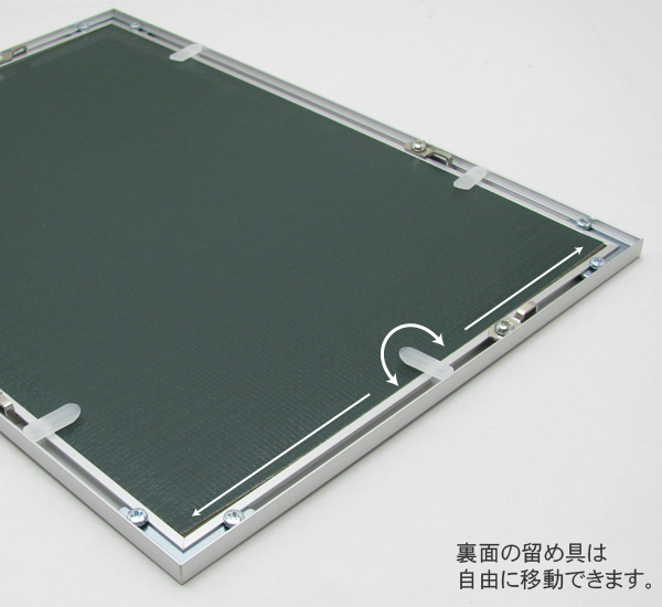 Cheap aluminum poster frame B3 sizes ( 515 x 364 mm ) / panel / frame
