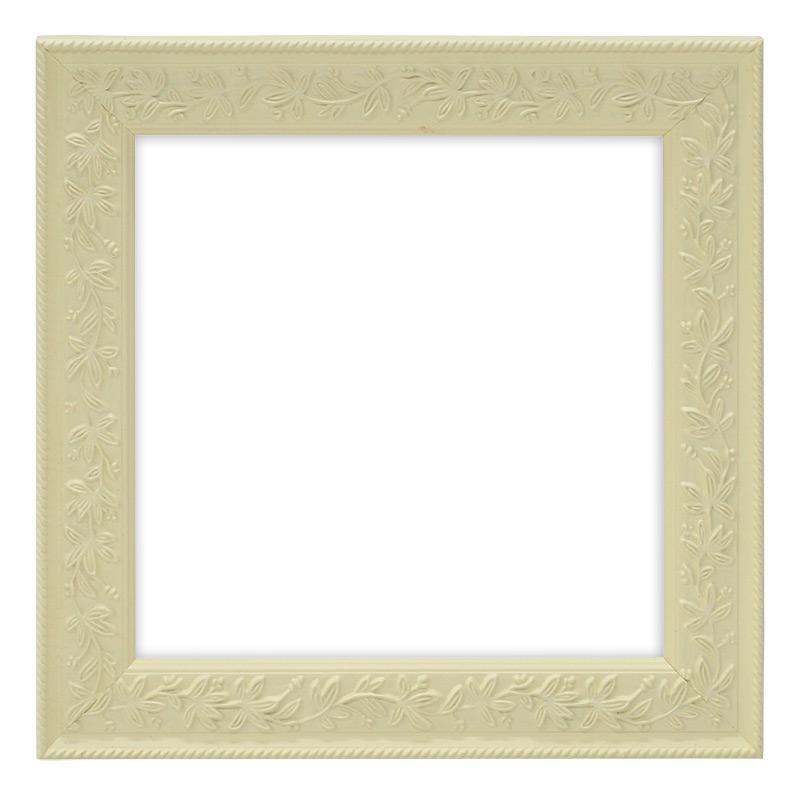 正方形額縁 9855 白 超特価 450角 450×450mm 評価 ☆前面アクリル仕様☆ 絵画 壁掛け アートフレーム インテリア 正方形 記念品 玄関