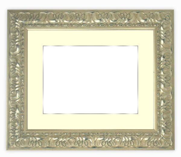 押し花額縁 246/シルバー 半切サイズ(ガラス寸法542×421mm)【os-B】【絵画/壁掛け/インテリア/玄関/アートフレーム】