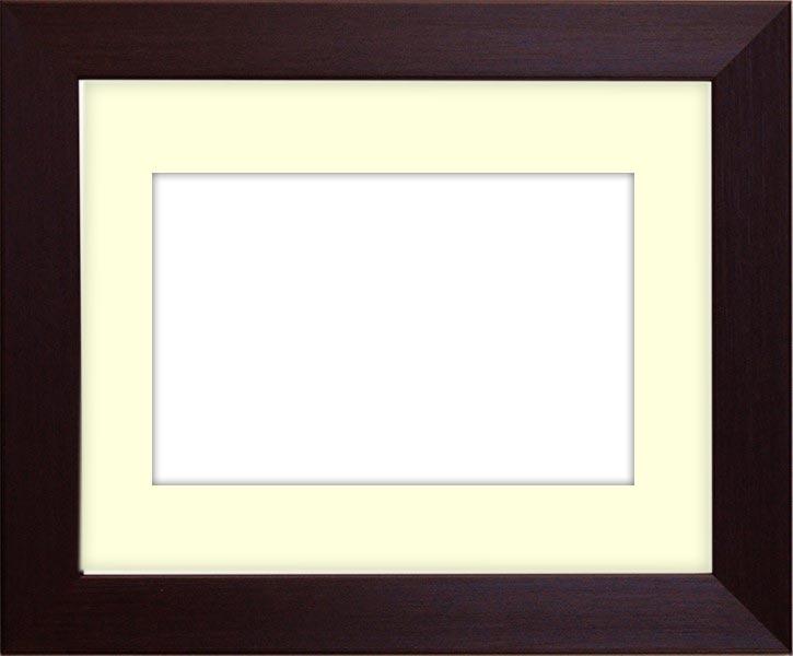 押し花額縁 1530/ダークブラウン 大全紙サイズ(ガラス寸法724×542mm)【os-B】【絵画/壁掛け/インテリア/玄関/アートフレーム】