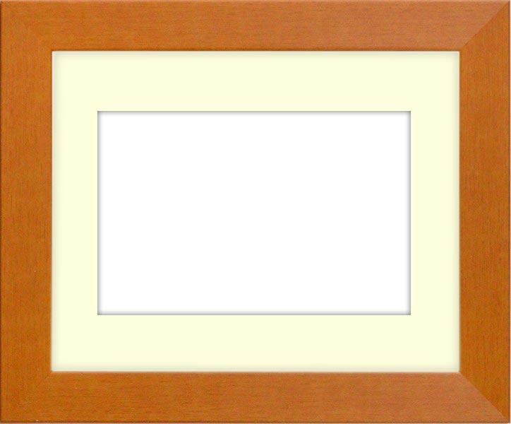 押し花額縁 1530/チーク 大全紙サイズ(ガラス寸法724×542mm)【os-B】【絵画/壁掛け/インテリア/玄関/アートフレーム】