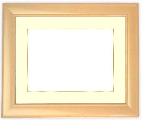 【送料無料】写真用額縁 5590/パールピンク A2(594×420mm)専用 ☆前面ガラス仕様☆マット付き(金色細縁付き)【写真額縁】【絵画/壁掛け/インテリア/玄関/アートフレーム】