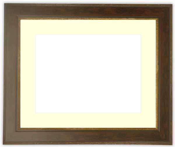 押し花額縁 9650/ブラウン 大全紙サイズ(ガラス寸法724×542mm)【os-B】【絵画/壁掛け/インテリア/玄関/アートフレーム】