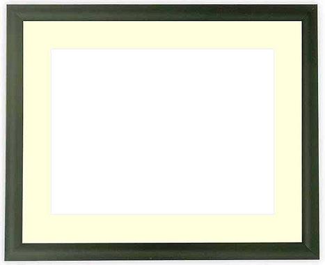 写真用額縁 713/黒 写真全紙(560×457mm)専用【写真額】☆前面アクリル仕様☆マット付き【絵画/壁掛け/インテリア/玄関/アートフレーム】