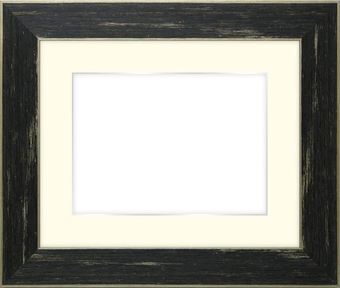 写真用額縁 ブレスト B3(515×364mm)専用☆前面アクリル仕様☆マット付き(銀色細縁付き)【絵画/壁掛け/インテリア/玄関/アートフレーム】