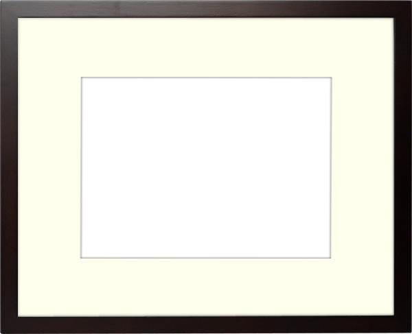 写真用額縁 D771/セピア 写真A2(594×420mm)専用 ☆前面アクリル仕様☆ マット付き【写真額】【絵画/壁掛け/インテリア/玄関/アートフレーム】