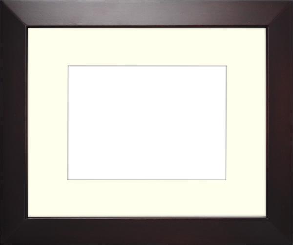 写真用額縁 D777/セピア 写真B3(515×364mm)専用 ☆前面アクリル仕様☆ マット付き【写真額】【絵画/壁掛け/インテリア/玄関/アートフレーム】