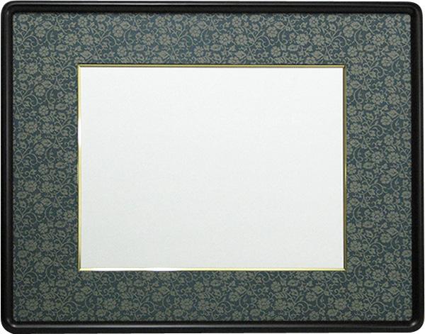 マットは10色から選べます!書道作品の力強さ、繊細さを最大限に引き立てます。水墨画にもおすすめ。【和額・額縁】 書道額 D717 書道半懐紙(360×250mm)作品専用※落とし仕様※【絵画/壁掛け/インテリア/玄関/アートフレーム】