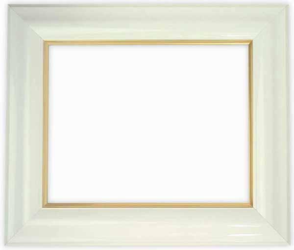 デッサン額縁 681/白 大全紙サイズ(727×545mm)☆前面アクリル仕様☆【絵画/壁掛け/インテリア/玄関/アートフレーム】