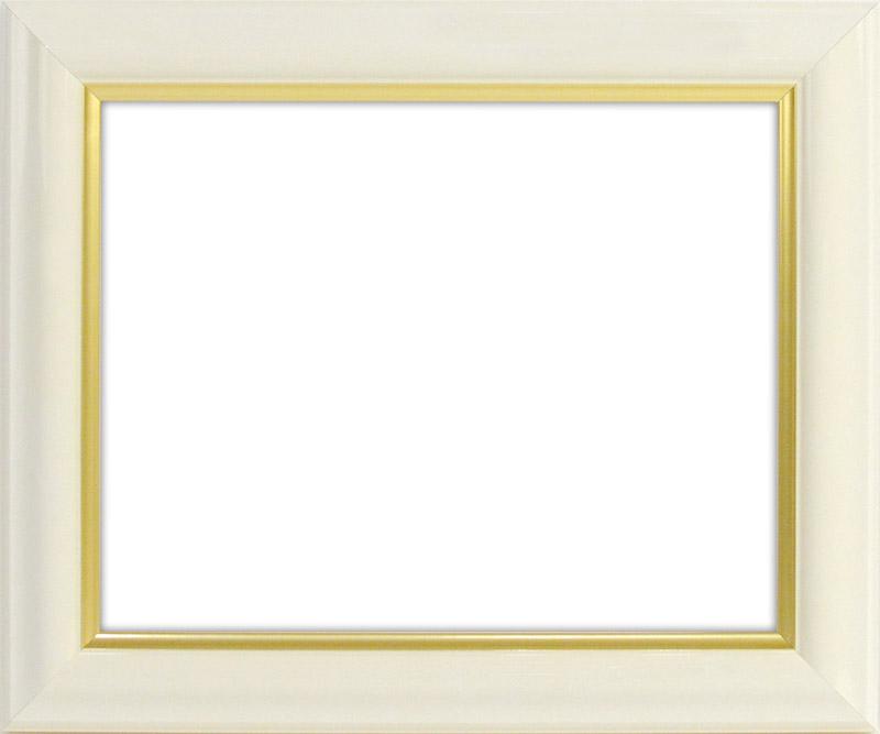 デッサン額縁 工芸型/白 B2サイズ(728×515mm)専用☆前面アクリル仕様☆【絵画/壁掛け/インテリア/玄関/アートフレーム】:自社工房の額縁専門店ないとう