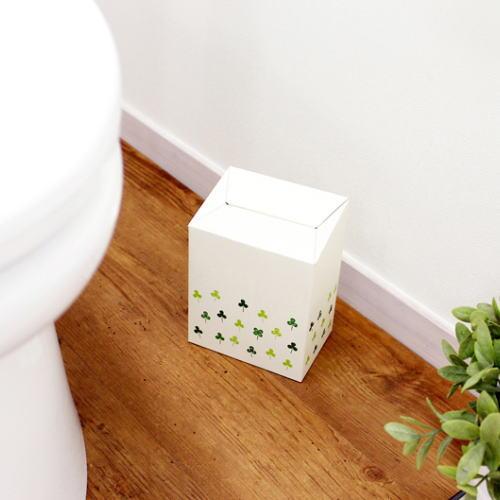 送料無料 必要な時だけサッと置いて 安全 そのまま捨てられる便利トイレコーナーポット 使い捨てサニタリーボックス 15枚入り 高品質 クローバー 北海道 沖縄への配送不可