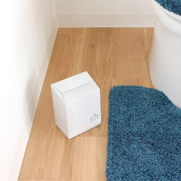 店 送料無料 必要な時だけサッと置いて そのまま捨てられる便利トイレコーナーポット 使い捨てサニタリーボックス 北海道 2020 沖縄への配送不可 ハウス 15枚入り