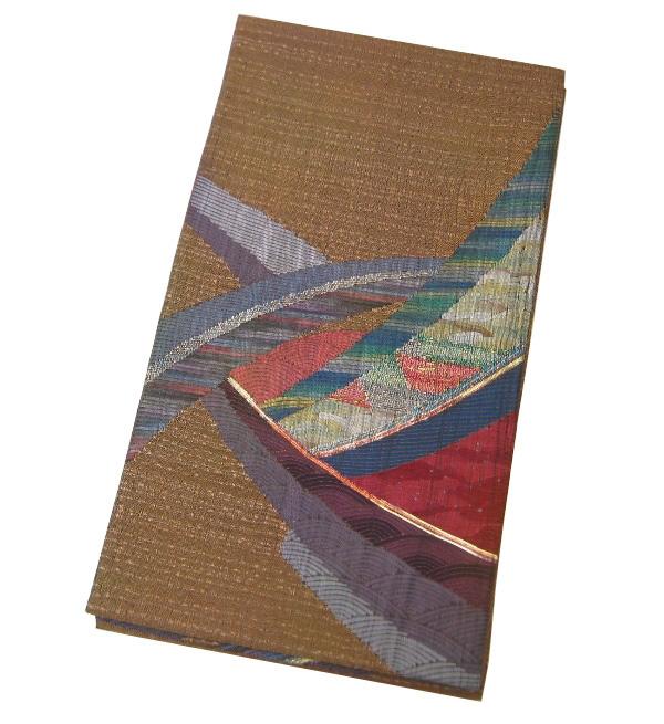 【新品】 お太鼓 袋帯(正絹)