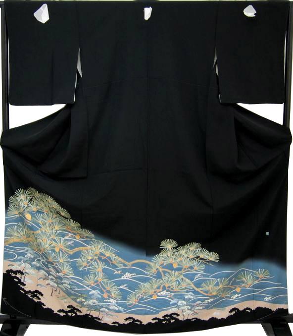新古品 黒留袖