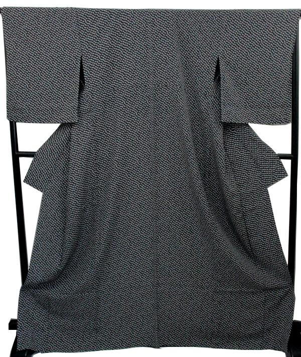 【特価品】【新品】女単衣 小紋着物(正絹・大き目サイズ)