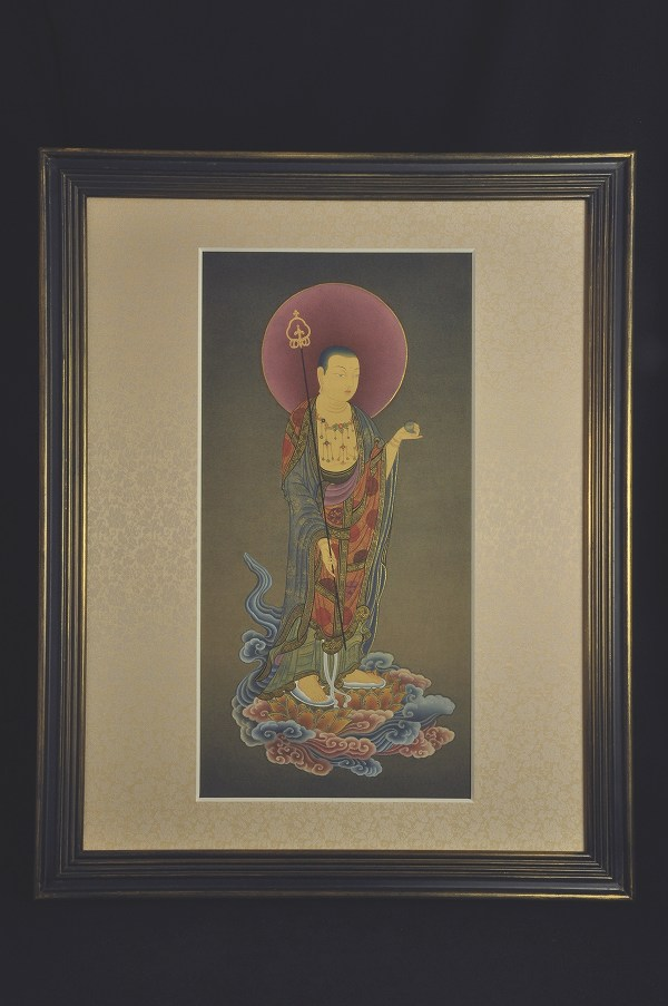肉筆仏画 地蔵菩薩