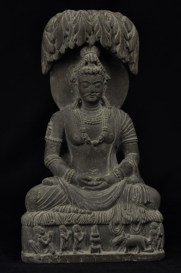 石仏 樹下釈迦太子像