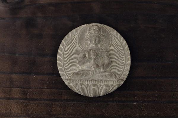 石仏 観音菩薩(浮き彫り)