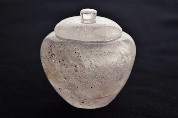 舎利容器(水晶)b
