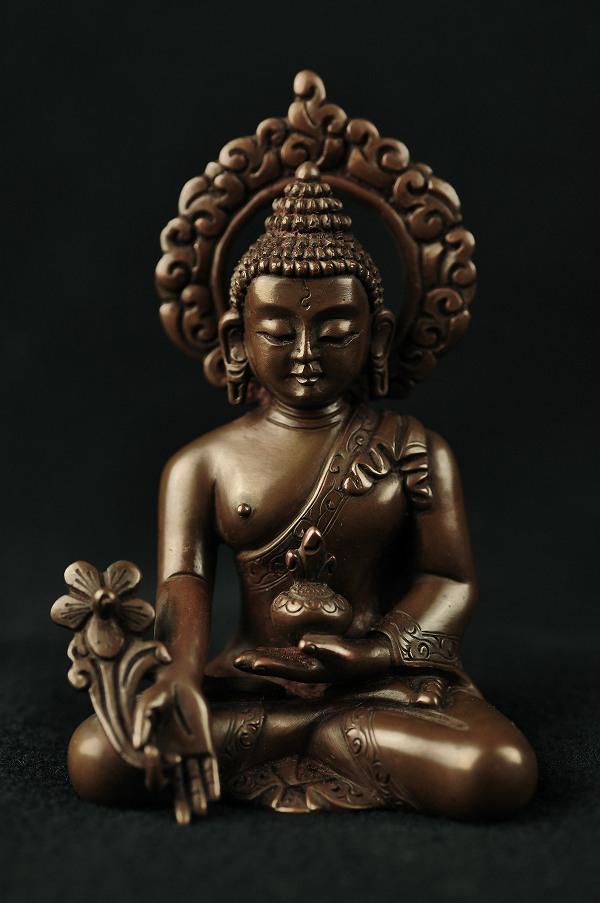 最高品質の 薬師如来銅造彫金仕上げ, Fiorello:8cdf6a60 --- askamore.com