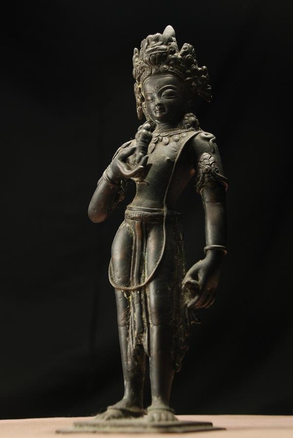 普賢菩薩 銅造