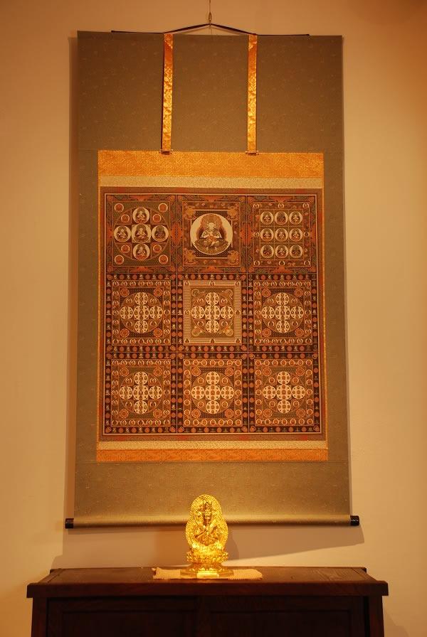 手数料安い 金剛界曼荼羅 仏画掛け軸(全紙幅), 深江町 cabef999