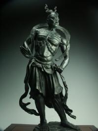 金剛力士像(仁王) 吽形 青銅古色仕上げ