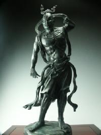 金剛力士像(仁王) 阿形 青銅古色仕上げ