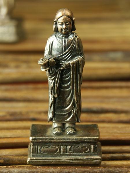 極小仏像 大 聖徳太子考養像 有名な 全国一律送料無料