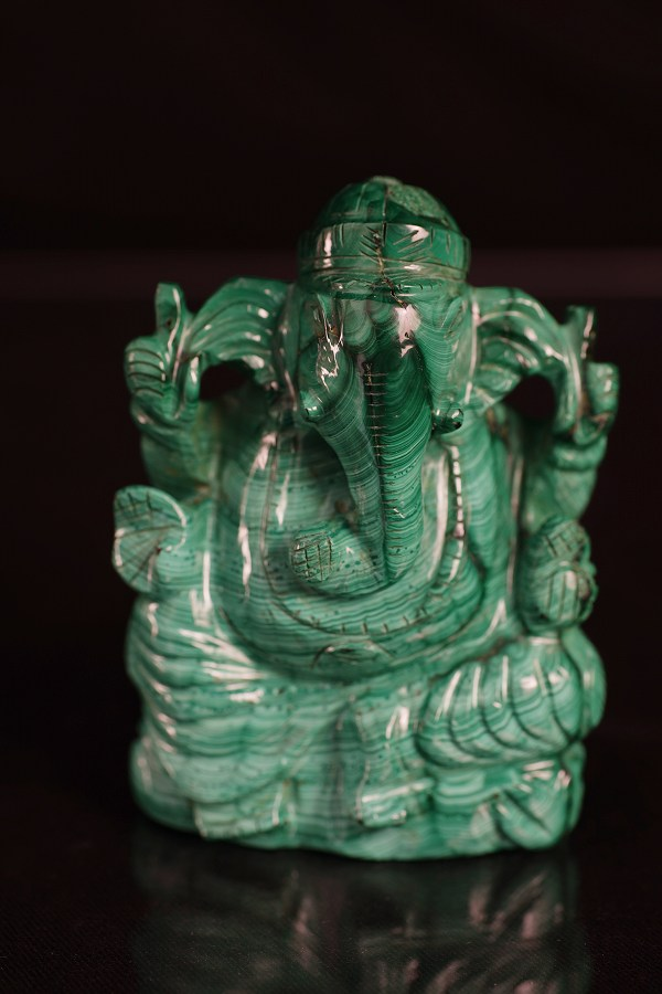 天然石仏 ガネーシャ