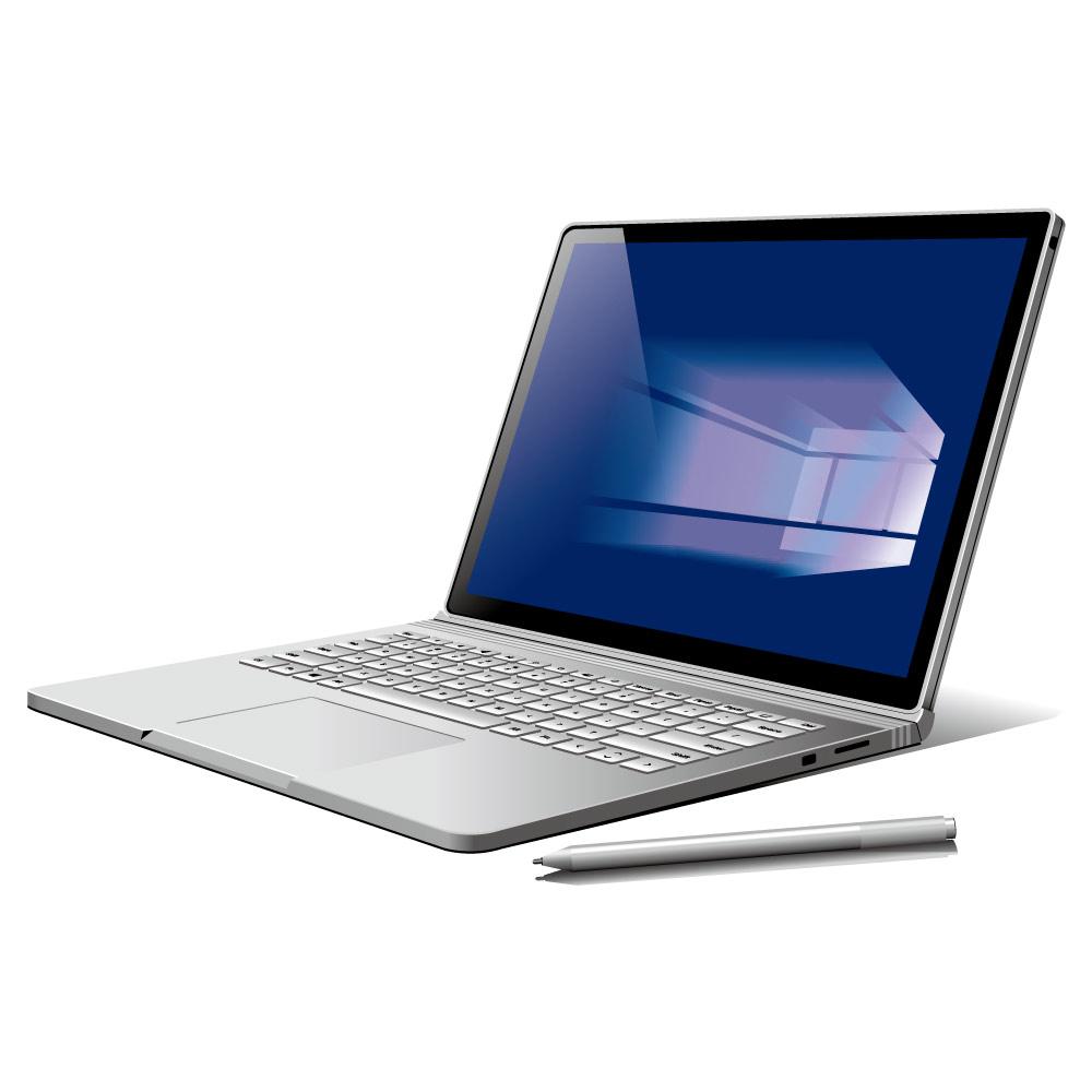 Surface Book2用 液晶保護フィルム 13.5インチ Surface Book対応 光沢・指紋防止 TBF-SFB17FLS