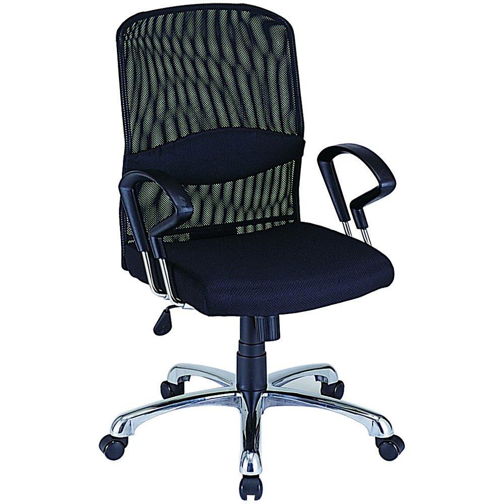 パソコンチェア クッションパソコンチェア オフィスチェア 椅子 疲れにくい RZS-101BK