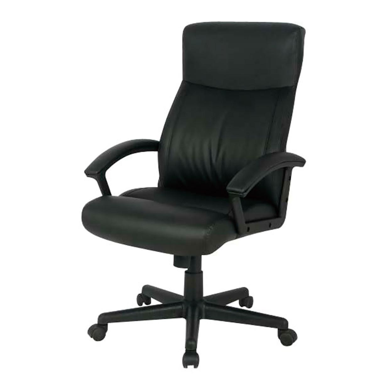 パソコンチェア クッションパソコンチェア オフィスチェア 椅子 疲れにくい CNL-601BK