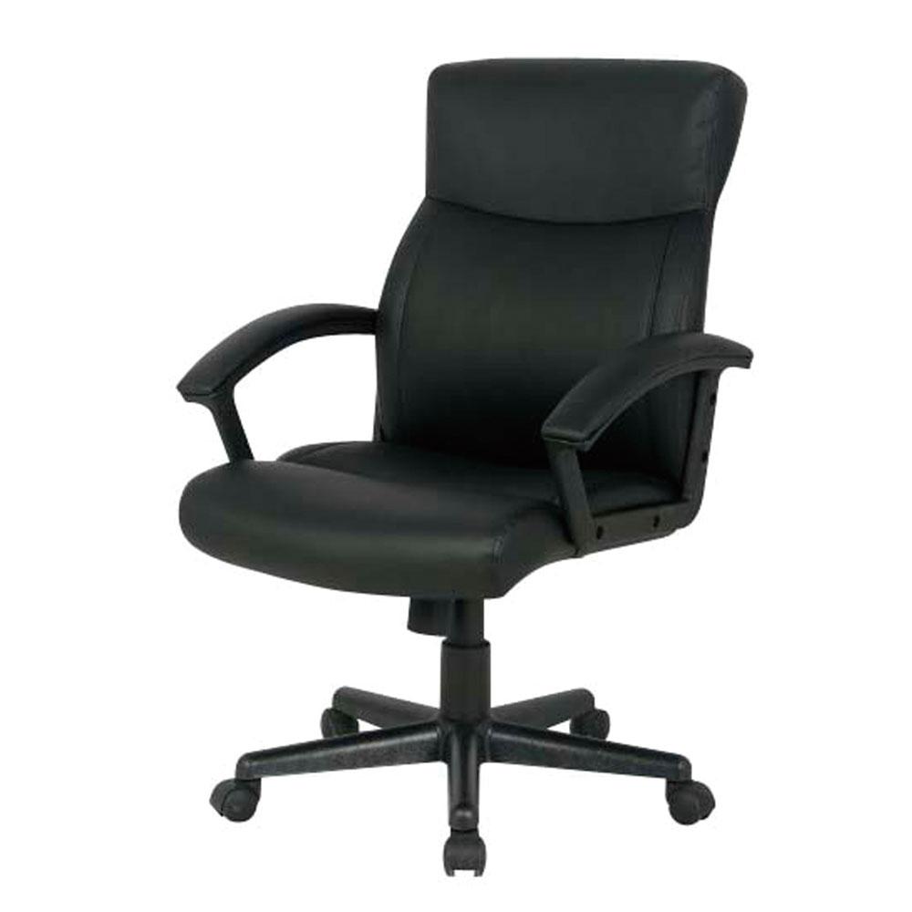 パソコンチェア クッションパソコンチェア オフィスチェア 椅子 疲れにくい CNL-501BK