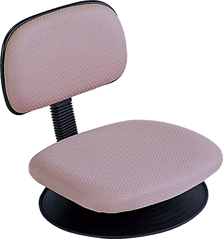 パソコンチェア クッションパソコンチェア オフィスチェア 回転盤付き座椅子 座椅子 椅子 疲れにくい RZF-103LBR